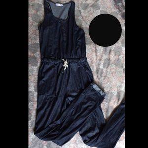 •Blue Jumpsuit•